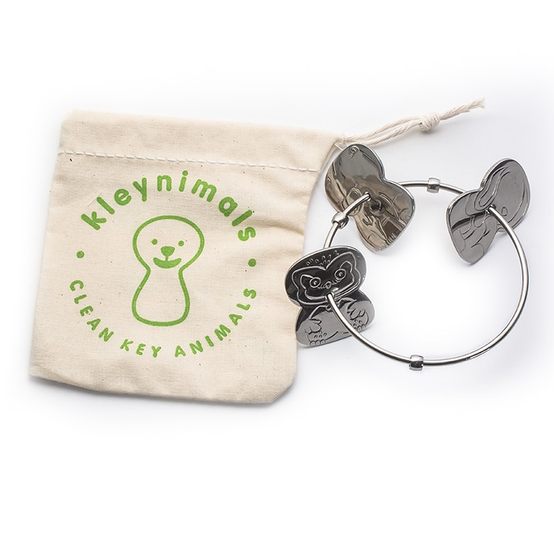 Kleynimals Rattle - 100% Stainless Steel. Made in the USA